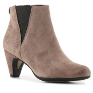 Sam Edelman Ankle Boot Booties 7 Taupe Suede $140